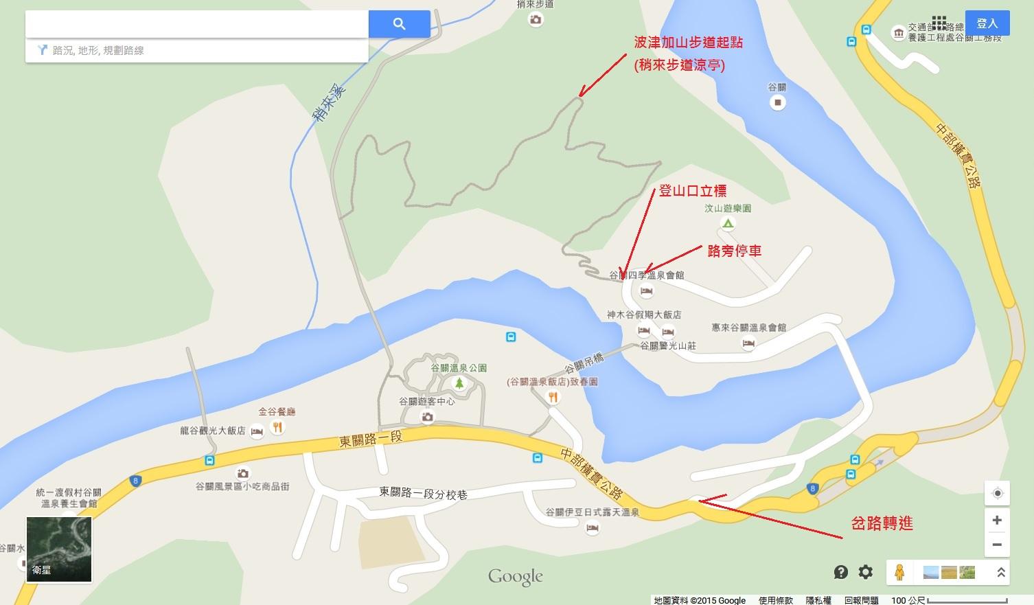 交通指引地圖